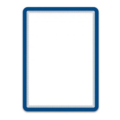 Magneto modrá A4 magnetická kapsa/2ks. Samolepící zadní strana