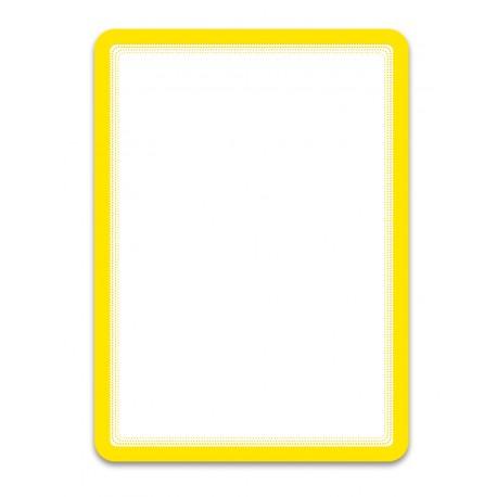 Magneto žlutá A4 magnetická kapsa/2ks. Samolepící zadní strana