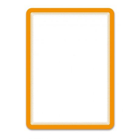 Magneto oranžová A4 magnetická kapsa/2ks. Samolepící zadní strana