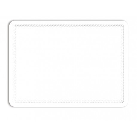 Magneto - samolepicí rámeček, A4, bílý - 2 ks