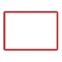 Magneto - samolepicí rámeček, A3, antireflex. PVC, červenrý - 2 ks