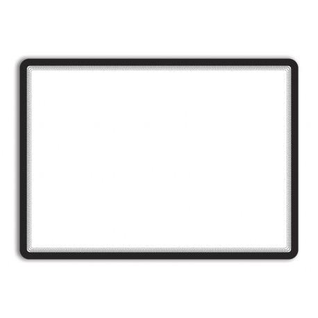 Magneto - samolepicí rámeček, A3, antireflex. PVC, černý - 2 ks