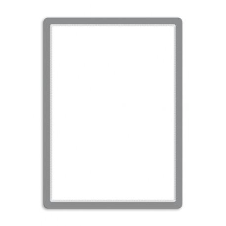 Magneto - samolepicí rámeček, A2, antireflex. PVC, stříbrný