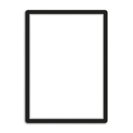 Magneto - samolepicí rámeček, A2, antireflex. PVC, černý
