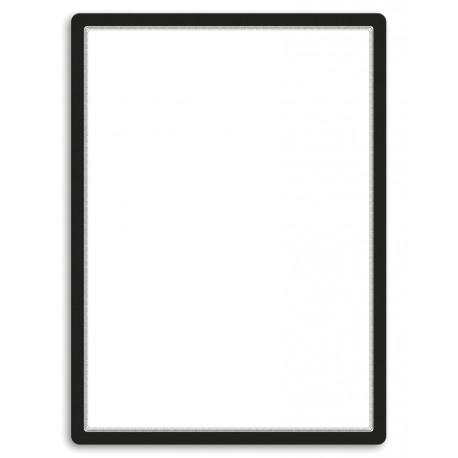 Magneto - samolepicí rámeček, 50x70cm, černý