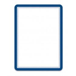Magneto modrá A4 magnetická kapsa/2ks. Magnetická zadní strana