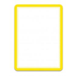 Magneto žlutá A4 magnetická kapsa/2ks. Magnetická zadní strana
