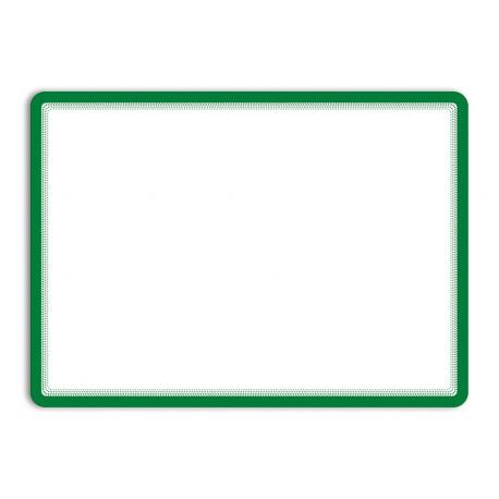 Magneto zelená A4 magnetická kapsa/2ks. Magnetická zadní strana