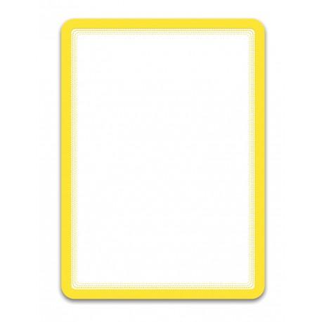 Magneto Solo žlutá A4 magnetická kapsa/2ks. Samolepící zadní strana