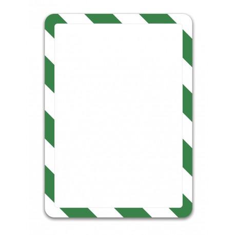 Magneto Solo bezpečnostní zelenobílá A3 magnetická kapsa/2ks.