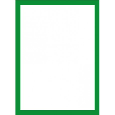 Magneto LEAN, A4, zelený