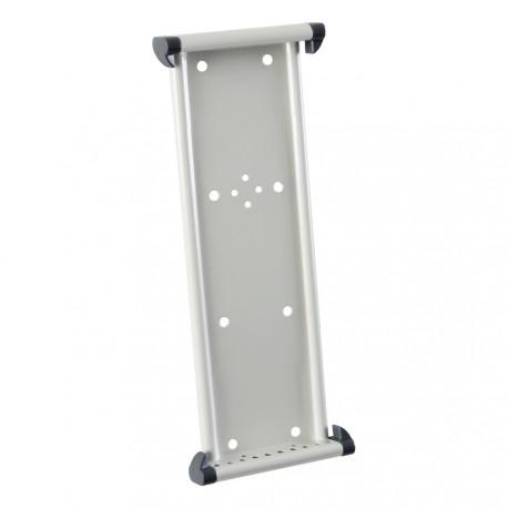Nástěnný kovový držák na 10 kapes A5 na výšku nebo A4 na šířku bez kapes
