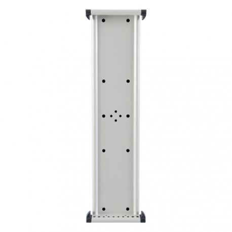 Nástěnný kovový magnetický držák na 10 kapes A4 na výšku nebo A3 na šířku bez kapes