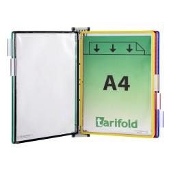 Nástěnný magnetický A4 držák + 5 mix barev kapes A4