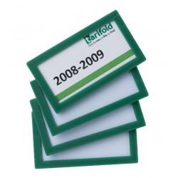 Magnetický rámeček 80x45mm zelený Display Frame/4ks