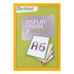 Magnetický rámeček A6 žlutý Display Frame/1ks