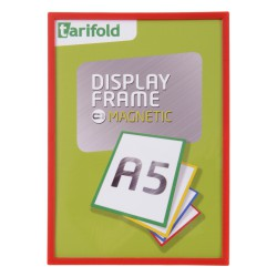 Magnetický rámeček A5 červený/1ks Display Frame