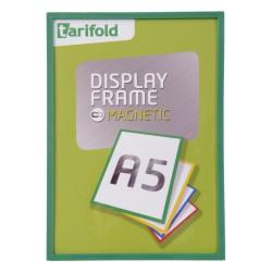 Magnetický rámeček A5 zelený/1ks Display Frame