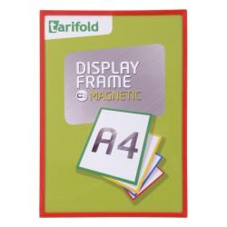 Magnetický rámeček A4 červený/1ks Display Frame