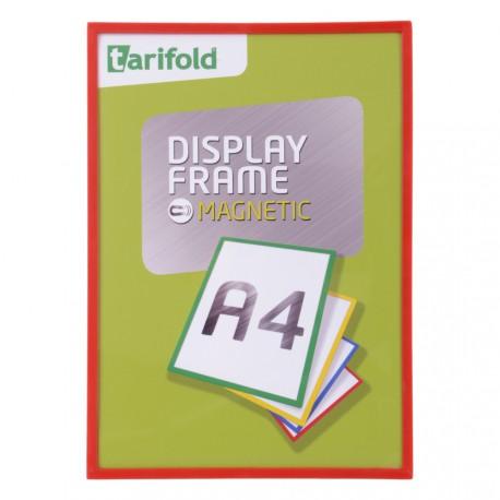 Magnetický rámeček A4 červený Display Frame/1ks