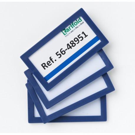 Samolepící rámeček 80x45mm/4ks modrý Display Frame
