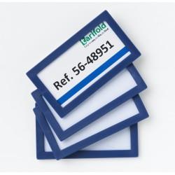 Magnetický rámeček 80x45mm/4ks modrý Display Frame