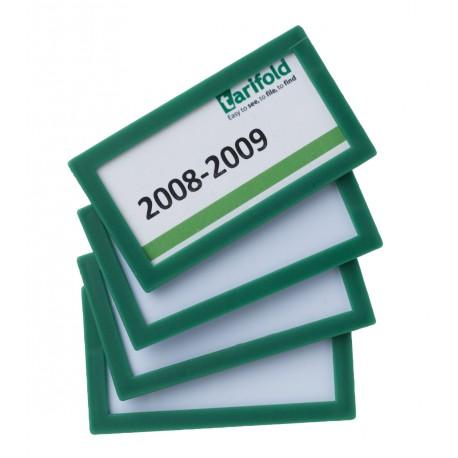 Samolepící rámeček 80x45mm/4ks zelený Display Frame