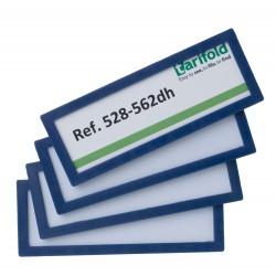Samolepící rámeček 120x45mm/4ks modrý Display Frame