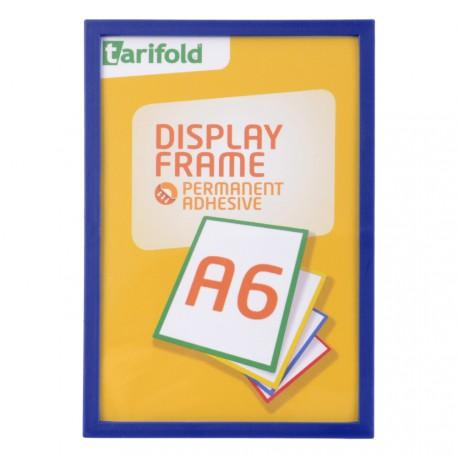 Samolepící rámeček A6 modrý/1ks Display Frame