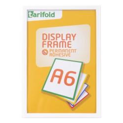 Samolepící rámeček A6 bílý/1ks Display Frame