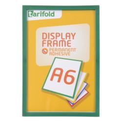Samolepící rámeček A6 zelený/1ks Display Frame