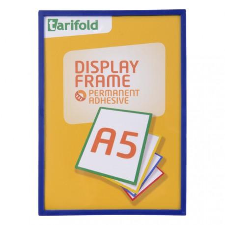 Samolepící rámeček A5 modrý/1ks Display Frame