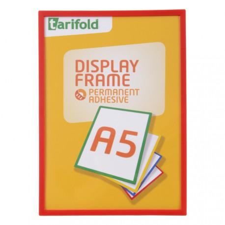 Samolepící rámeček A5 červený/1ks Display Frame