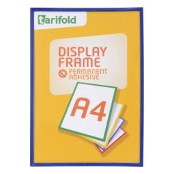 Samolepící rámeček A4 modrý/1ks Display Frame