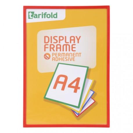 Samolepící rámeček A4 červený/1ks Display Frame