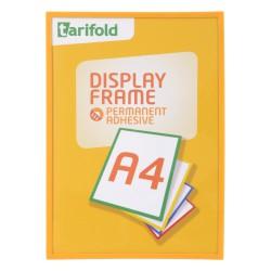 Samolepící rámeček A4 žlutý/1ks Display Frame