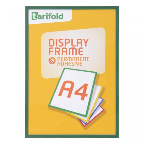 Samolepící rámeček A4 zelený/1ks Display Frame