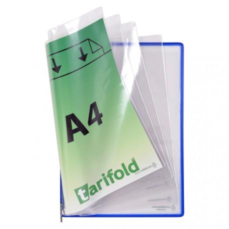 Kapsy Foldfive na přídavné dokumenty A4, modré/5ks