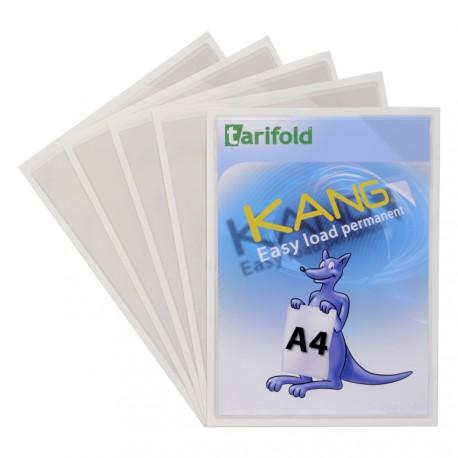 Samolepicí kapsy Kang Easy Load A4, permanentní transparentní/5ks