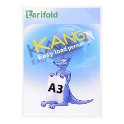Samolepicí kapsy Kang Easy Load A3, permanentní transparentní/2ks