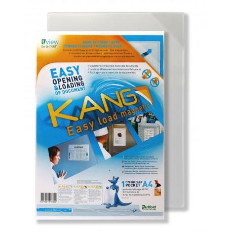 Kapsy Kang Easy Load A4magnetické transparentní/5ks