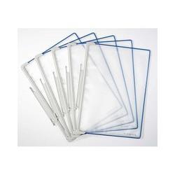 Závěsné modré kapsy A4 pro stojan a držák office