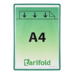 Samolepící zelené A4 kapsy s nepermanentním lepidlem /5ks