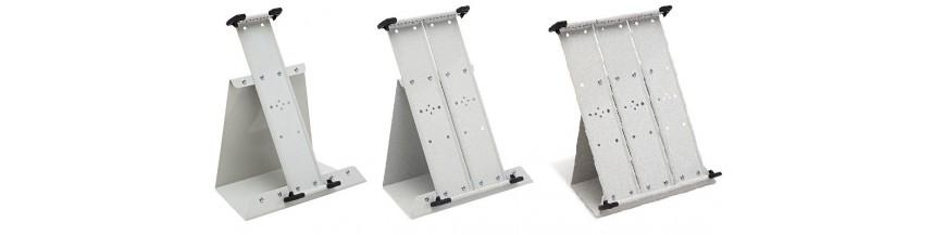 Pultové kovové A4 stojany bez kapes