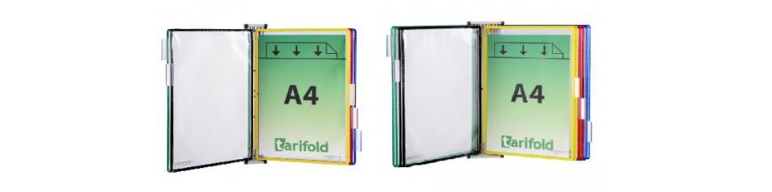Nástěnné magnetické držáky závěsných desek